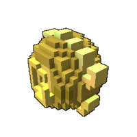 Golden Iridescent Dragon Egg
